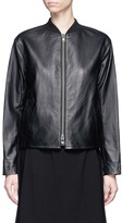 Vince Sheepskin leather bomber jacket