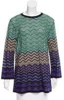 M Missoni Oversize Knit Top