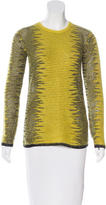Alexander Wang Crew Neck Long Sleeve Sweater