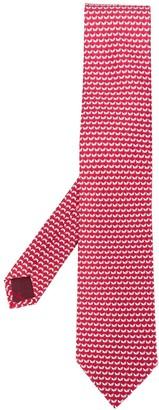 Salvatore Ferragamo Monogram Tie