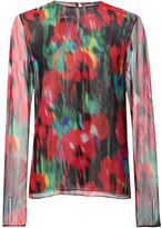 Jason Wu floral print blouse - women - Silk - 8