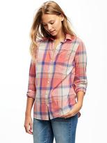 Old Navy Classic Plaid Shirt for Women