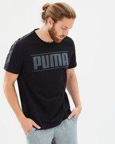 Puma Rebel Tape Logo Tee