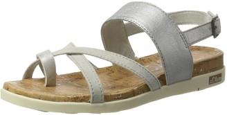 S'Oliver 28116 Womens Wedge Heels Sandals Grey (Lt Comb 295) 5 UK (38 EU)