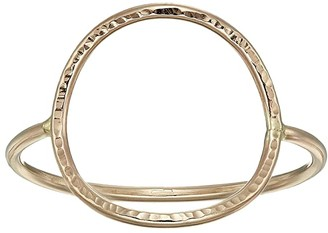 ABLE Hammered Circle Ring (Gold) Ring