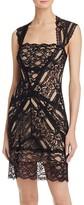 Nicole Miller Eva Lace Cockail Dress