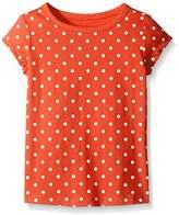 Scout + Ro Little Girls' Short-Sleeve Dot-Print Jersey T-Shirt