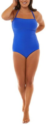 Seaspray Ceto Textured Bandeau Swimsuit