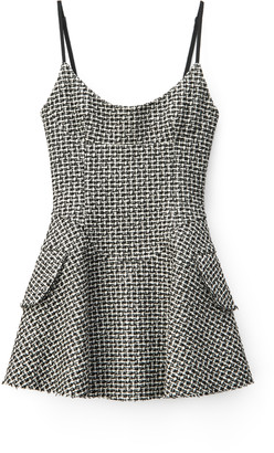 Collection Tweed Mini Dress