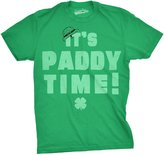 Crazy Dog T-shirts Crazy Dog Tshirts It's Paddy Time T Shirt funny St Pattys Day shirt Saint Patricks Day Tee