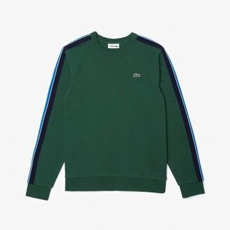 Lacoste Men's SPORT Contrast Bands Fleece Sweatshirt