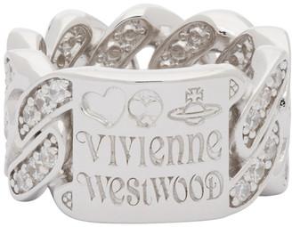 Vivienne Westwood Silver Roy Ring