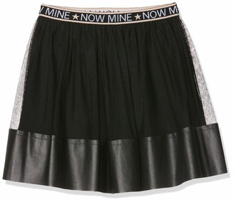 MEK Baby Girls Gonna Tulle CON INSERTI Ecopelle Skirt
