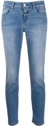 Closed Bleach Wash Skinny Jeans
