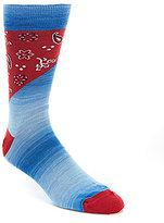 Daniel Cremieux Denim Bandana Socks