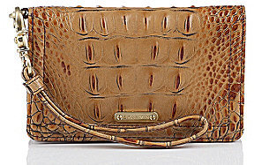 Brahmin Toasted Almond Collection Debi Key Clutch
