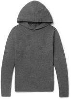 James Perse - Ribbed Cashmere Hoodie