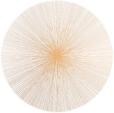 Tisch New York Graphic Lines Placemat-GOLD, WHITE