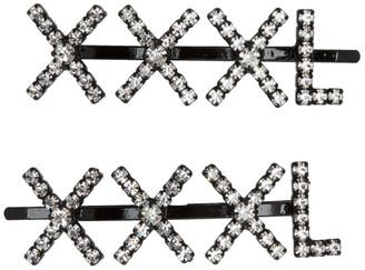Ashley Williams Transparent XXXL Hair Clip Set