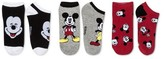Disney Women's Mickey/Minnie Mouse Socks - Black/Red/Gray One Size
