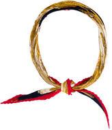 Hermes Soleil de Soie Silk Plissé Scarf