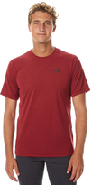 The North Face Crag Ss Mens Crew Red