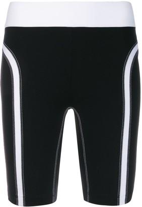 NO KA 'OI Stitching Detail Performance Leggings