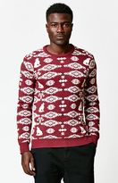 On The Byas Lee Jacquard Print Sweater