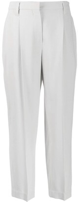 Brunello Cucinelli Pintuck Tailored Trousers