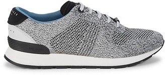 Ted Baker Hillron Textile Leather-Trim Sneakers