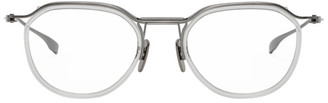 Dita Transparent and Silver Schema-Two Glasses