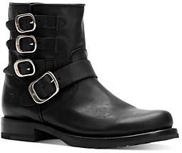 Frye Women's Veronica Belted Leather Booties