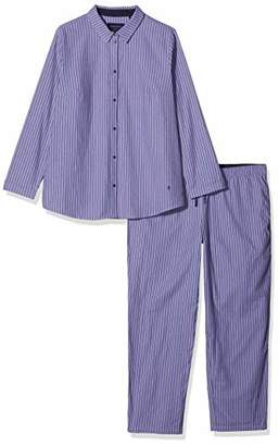 Seidensticker Women's Flanell Pyjama Lang Sets,(Size: 048)