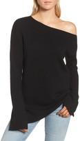 Ella Moss Women's Lucial One Shoulder Sweater