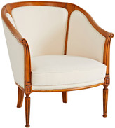 Rejuvenation Upholstered Side Chair in Pearl Velvet