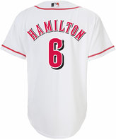 Majestic Boys' Billy Hamilton Cincinnati Reds Replica Jersey