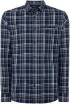 Armani Exchange Men's Long Sleeve Check Shirt