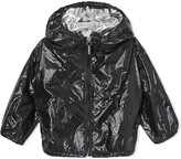 Burberry high gloss rain jacket