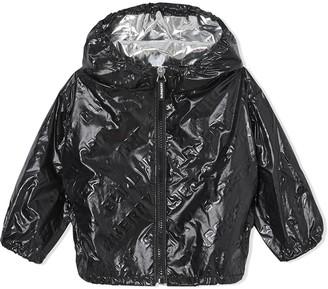 BURBERRY KIDS High Gloss Rain Jacket