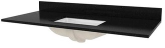 "Hazelwood Home Granite 49"" Single Bathroom Vanity Top Hazelwood Home"