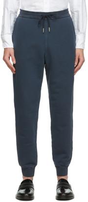 Thom Browne Navy Loopback Classic Sweatpants