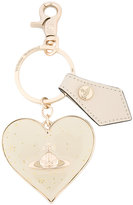 Vivienne Westwood Mirror Heart Gadget charm - women - Leather/metal - One Size