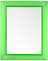 Kartell Francois Ghost Mirror - Bottle Green - Large