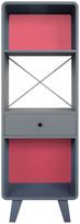 Laurette Enigme Dresser Light Grey\/Dark Grey