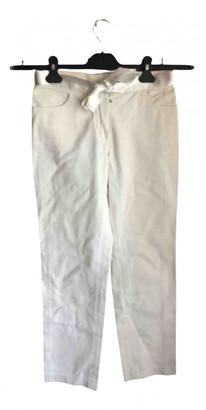 Chanel White Denim - Jeans Jeans