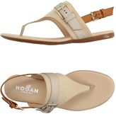 Hogan Toe strap sandals