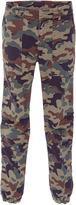 Nili Lotan Cropped Camo Military Pants