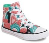 Converse Girl's Chuck Taylor All Star Watermelon Print High Top Sneaker