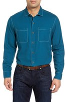 Tommy Bahama Men's Sea Glass Original Fit Flannel Shirt