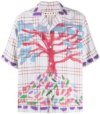 Marni Painted Tree Shirt
